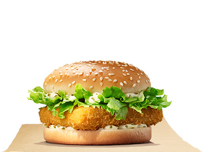 Crunchy Fish Fillet Sandwich