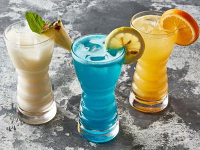 Peach Breezer Mocktail