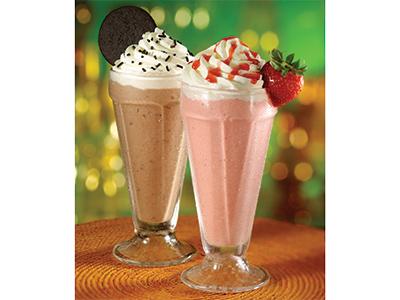Strawsicle Ice Cream Smoothies