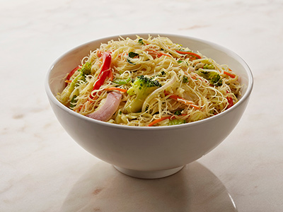 Spicy Vegetable Singapore Noodles
