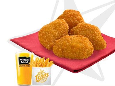 Little Star 4 Pc Chicken Nuggets