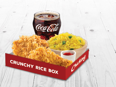 Crunchy Box Meal For 1