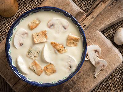 Creamy Chicken Mushroom Soup