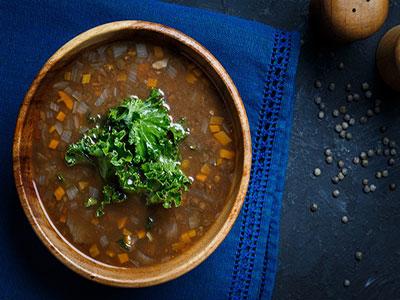 Kale & Lentil Soup
