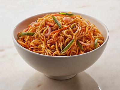 Spicy Vegetable Schezwan Noodles