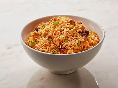 Spicy Schezwan Chicken Fried Rice