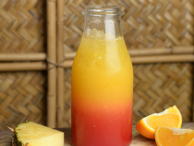 Sunset Mocktail