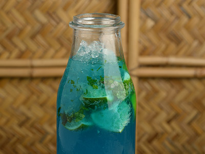 Jumeirah Blues Mocktail