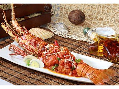 Lobster Tawa Masala