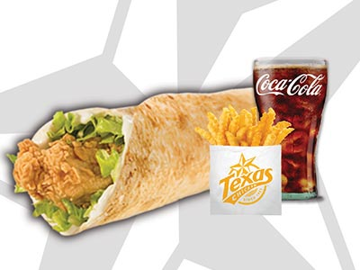 Tender Wrap Value Meal