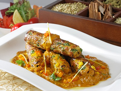 Subzi Seekh Kabab Masala