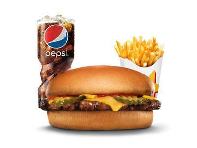 Kid's Fun Cheeseburger