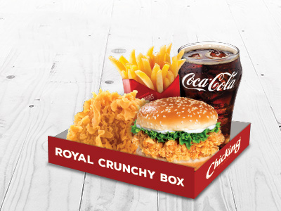 Crunchy Box Meal For 2
