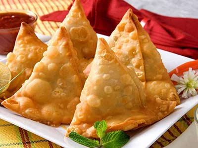 Samosa With Cheese
