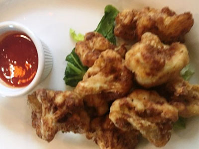 Cauliflower Fritti