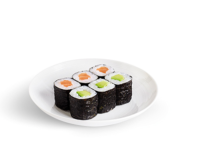 Mixed Maki Roll Plate