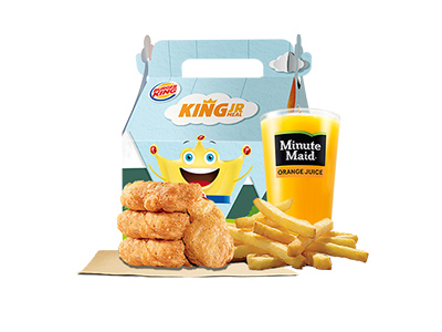 Chicken Nuggets 4 Pcs Meal