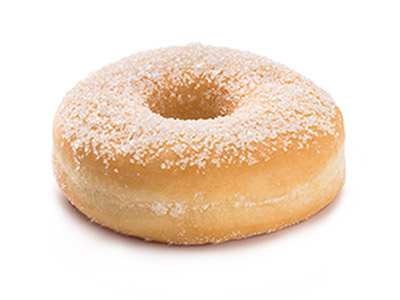 Sugar Coated Doughnut