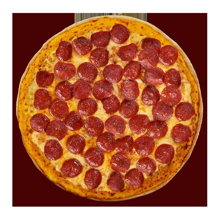 Medium Cheesy Crunch Pepperoni