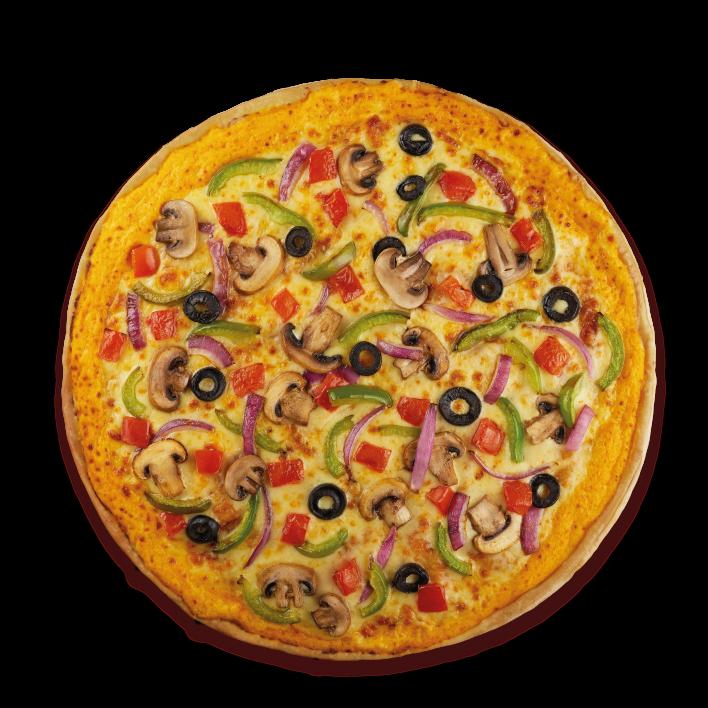 Medium Cheesy Crunch Vegeterian