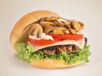 Burger Mushroom