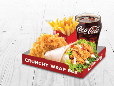 Crunchy Box Meal For 3