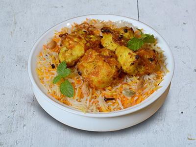 Fish Saundhi Biryani