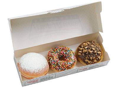 3 Pcs Assorted Doughnut