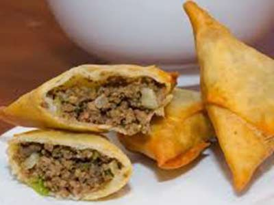 Samosa With Meat