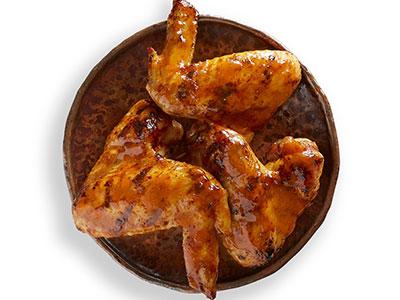 3 Full Chicken Wings