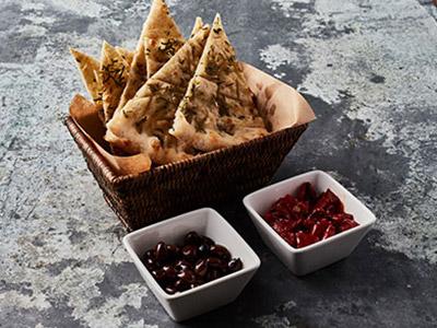Italian Crispy Bread With Rosemary