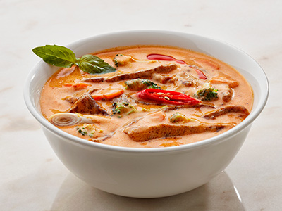 Spicy Beef In Thai Red Curry