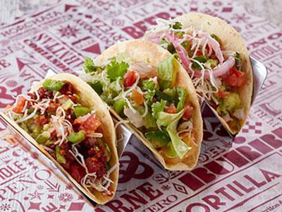 Tres Tacos Vegetarian