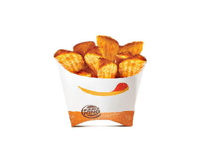 Seasoned Crinkled Fries - Large