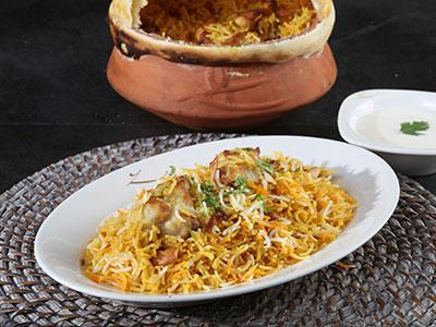 Murgh Malai Kabab Biryani