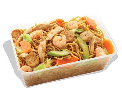 Stir Fry Canton Noodles Grand Platter