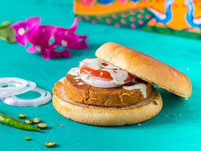 Chicken Bun Kebab
