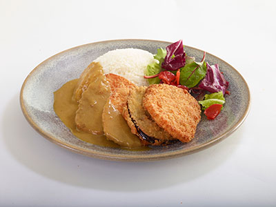 Vegan Yasai Katsu Curry
