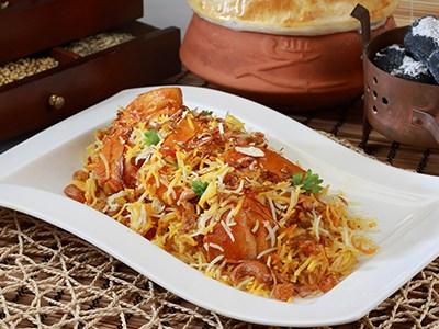 Murgh Zafrani Biryani