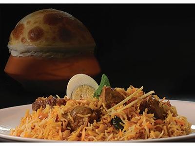Boti Hyderabadi Biryani
