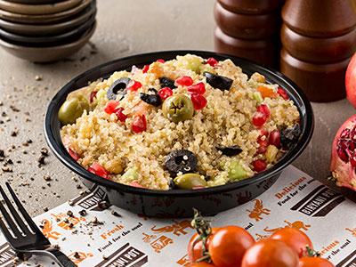 Vegan Masala Quinoa Salad
