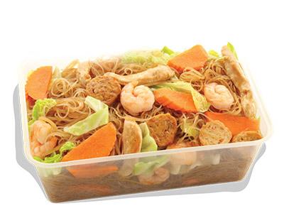 Stir Fry Bihon Noodles Grand Platter