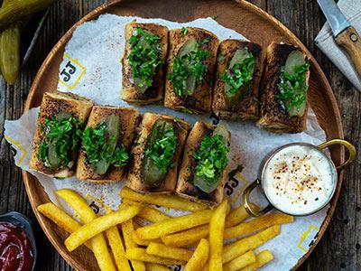 Chicken Shawarma Rolls Platter