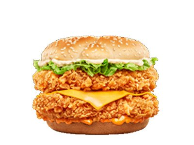 Mighty Zinger Sandwich