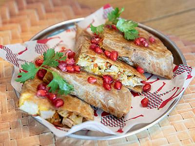 Chapatti Bites
