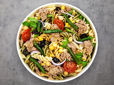 Alpha Tuna Pasta Salad