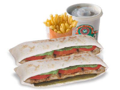Kebab Sandwich Meal
