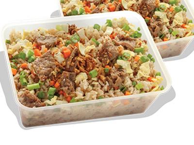 Beef Chao Fan Grand Platter