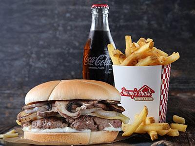 Denali Burger Meal - Single