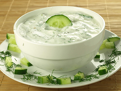 Yogurt With Cucumber